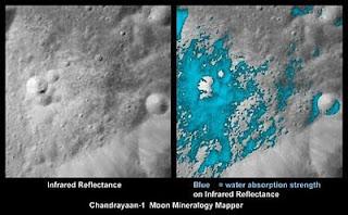 مياه القمر