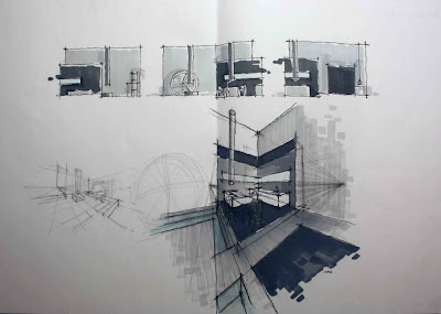 Casa inspiracion el estudio creativo yonoh gana el primer premio de interiorismo porcelanosa - Boceto interiorismo ...
