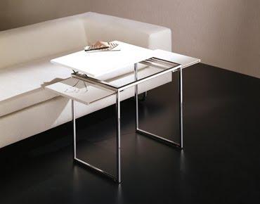 L nea auxiliar minimalista de valkit - Mesa auxiliar metacrilato ...