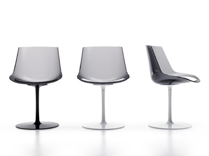 Flow Chair, a Modern Chair by Jean-Marie Massaud for MDF Italia