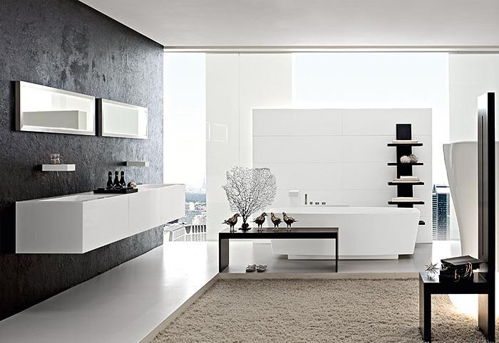 Baños Elegantes Para Casa:Los elegantes baños de Toscoquattro
