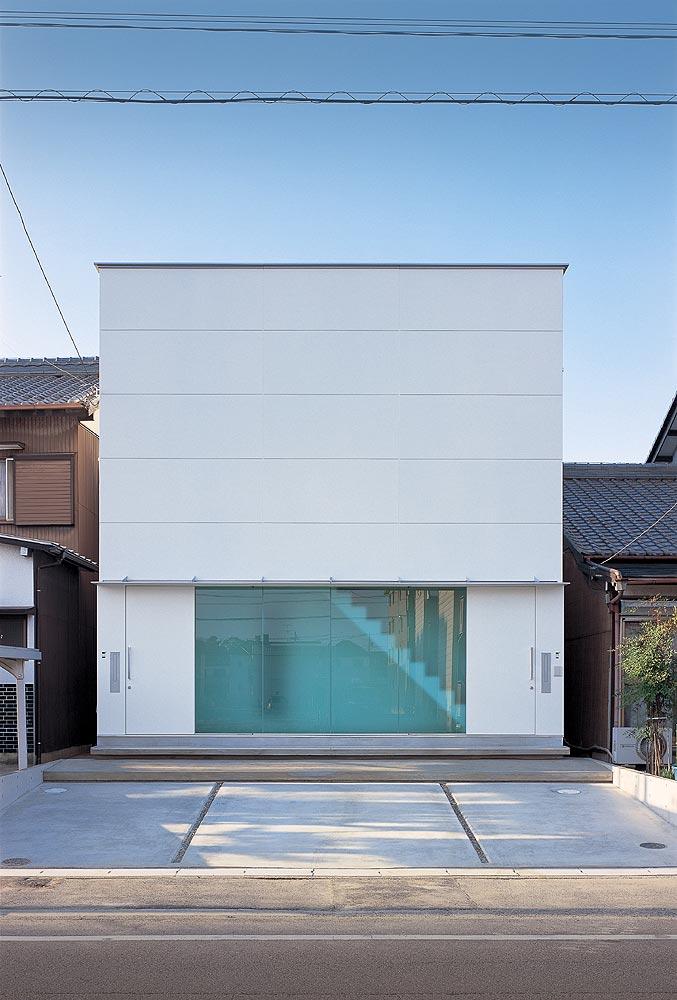 Casa inspiracion casa minimalista en jap n de nrm for Casa minimalista japon