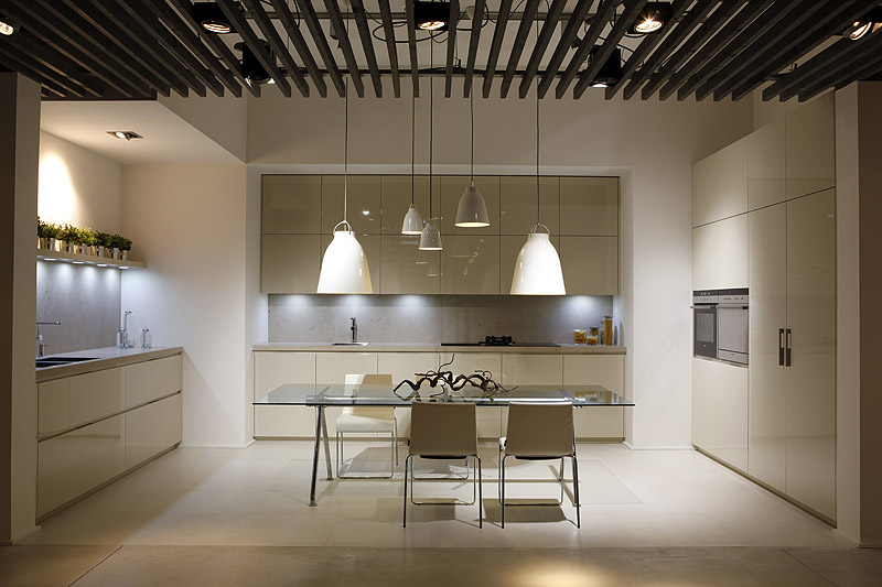 Gunni &amp; Trentino Kitchens and Bathrooms Barcelona Showroom