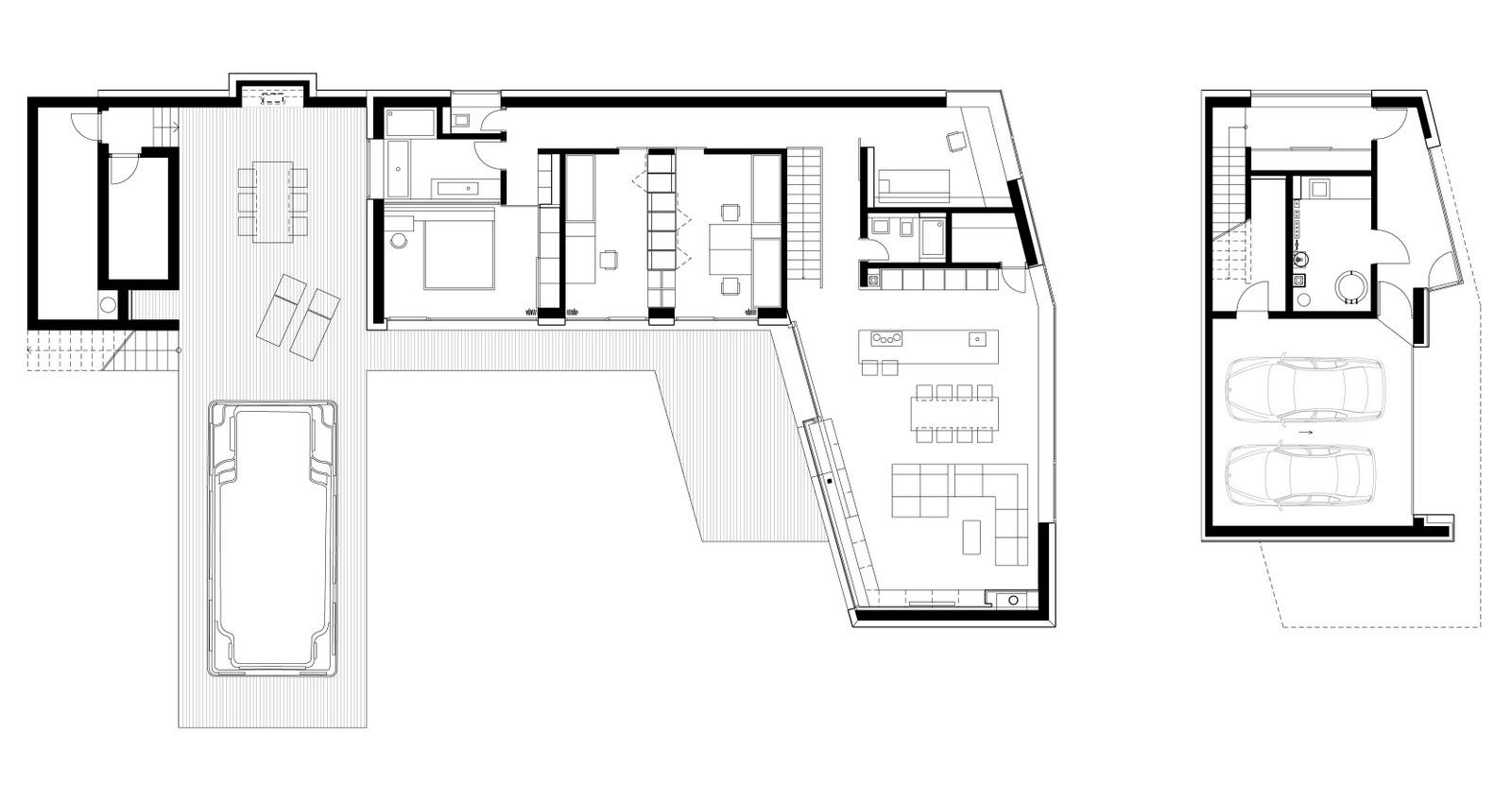 Interiores minimalistas casa minimalista en eslovaquia de - Casas minimalistas interiores ...