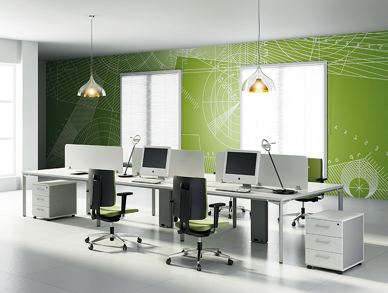Simple Modern Office Furniture, Module Series by JG Group