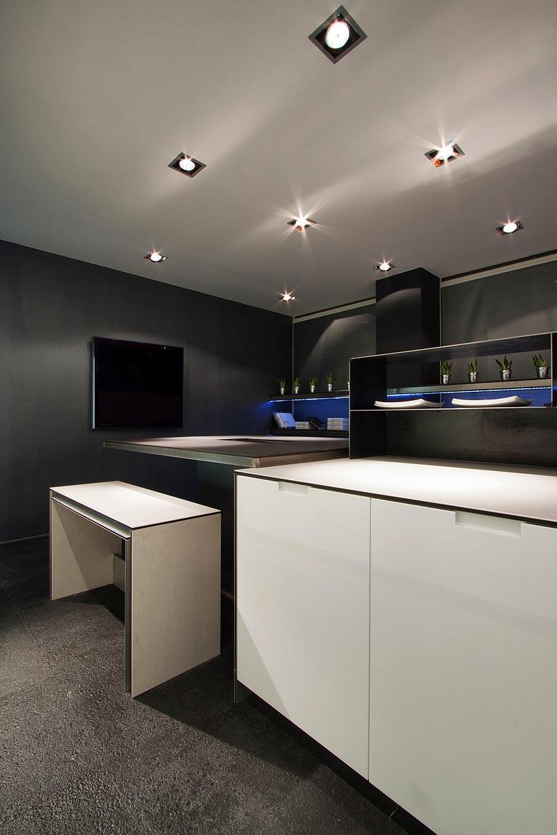 Los Espacios M S Minimalistas De Casa Decor Barcelona Interiores  # Muebles Vazquez Atrezzo