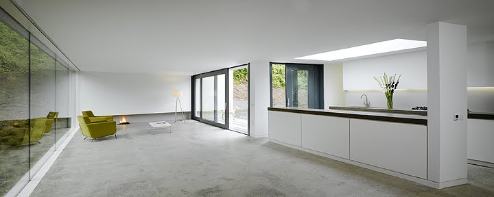 Los interiores minimalistas de 2010 y ii interiores for Casa minimalista harborview hills