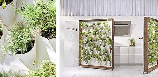 La cocina con jard n de xoane interiores minimalistas for Puertas interior valencia