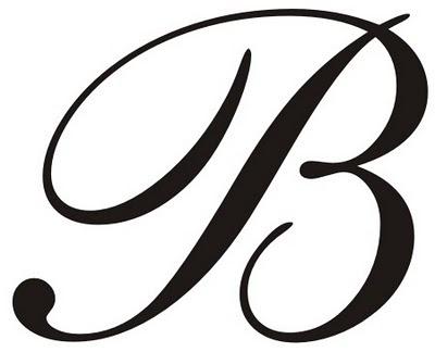 Script Letter B image tips
