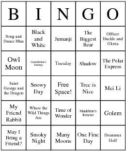 [Caldecott+Bingo]