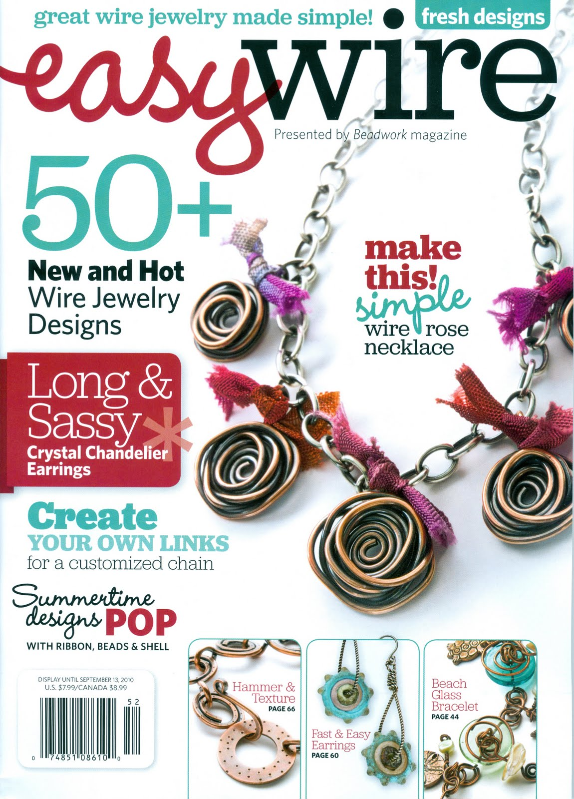 Stony Creek Bead: New Easy Wire Magazine Just Arrived