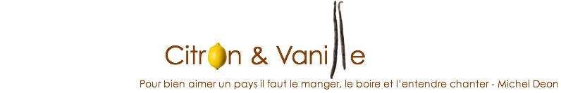 Citron & Vanille