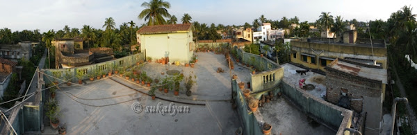 Suburb terrace landscape photography by Sukalyan Chakraborty