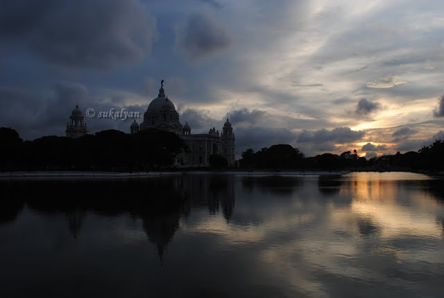 Forlorn Beauty, Victoria Memorial Kolkata by Sukalyan Chakraborty