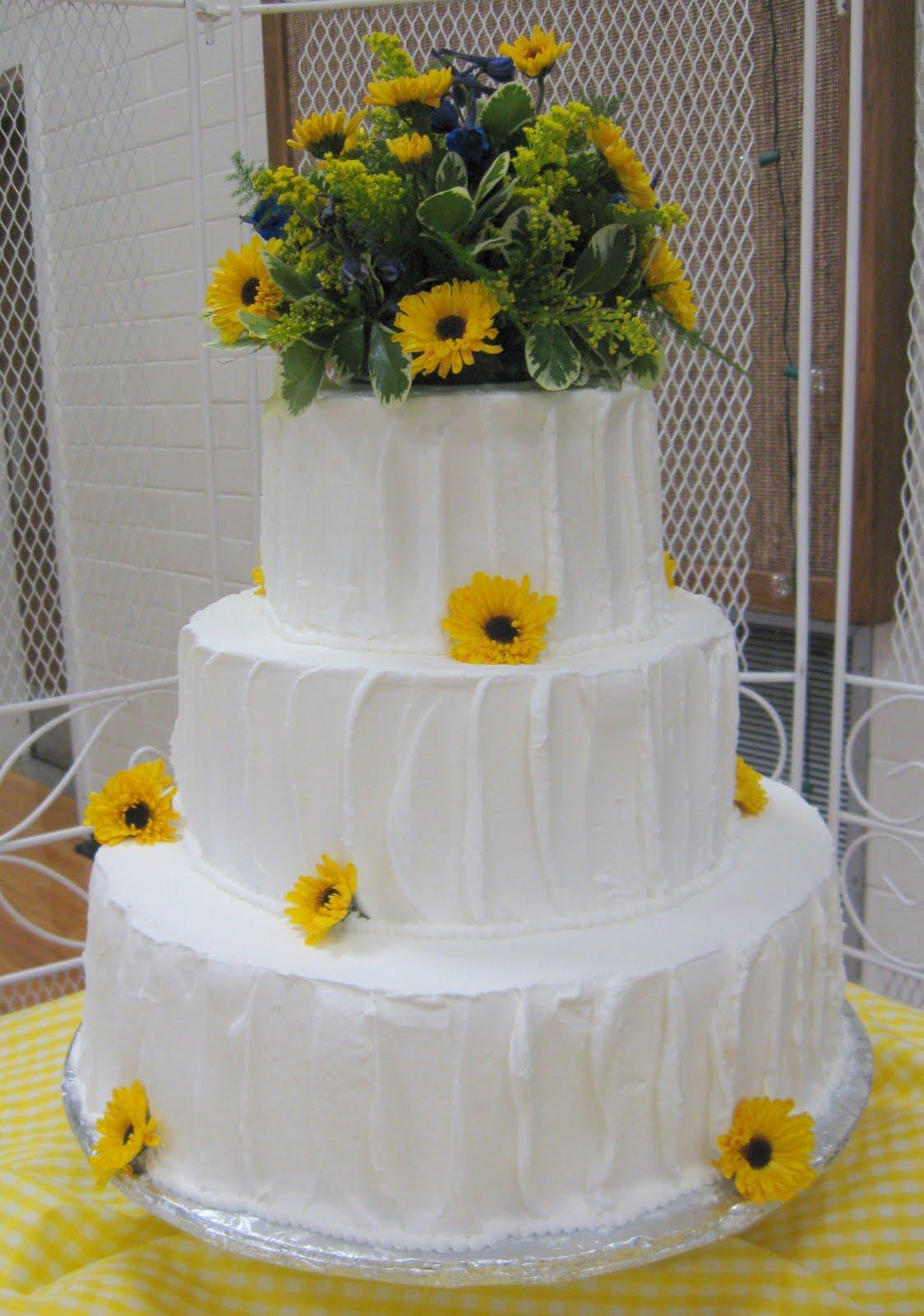 ChubbyHubbyCakes Country style wedding cake