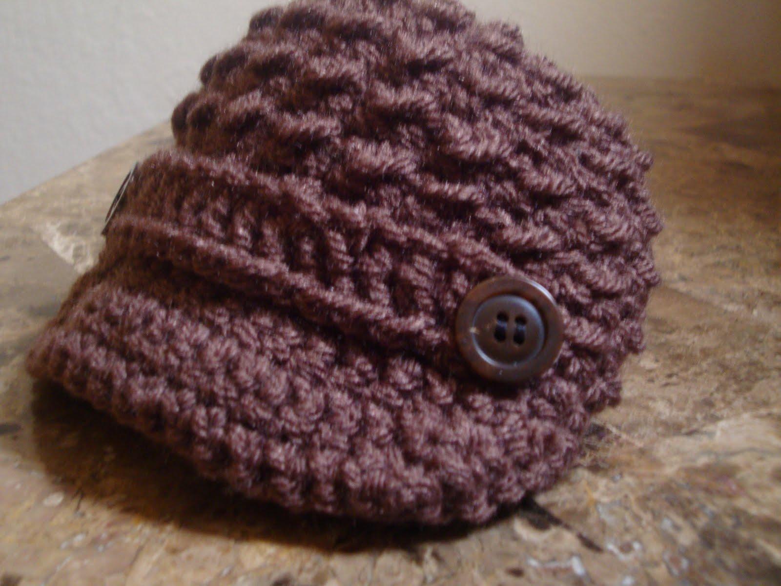 FREE CROCHET PATTERN/NEWSBOY CAP - Crochet and Knitting Patterns