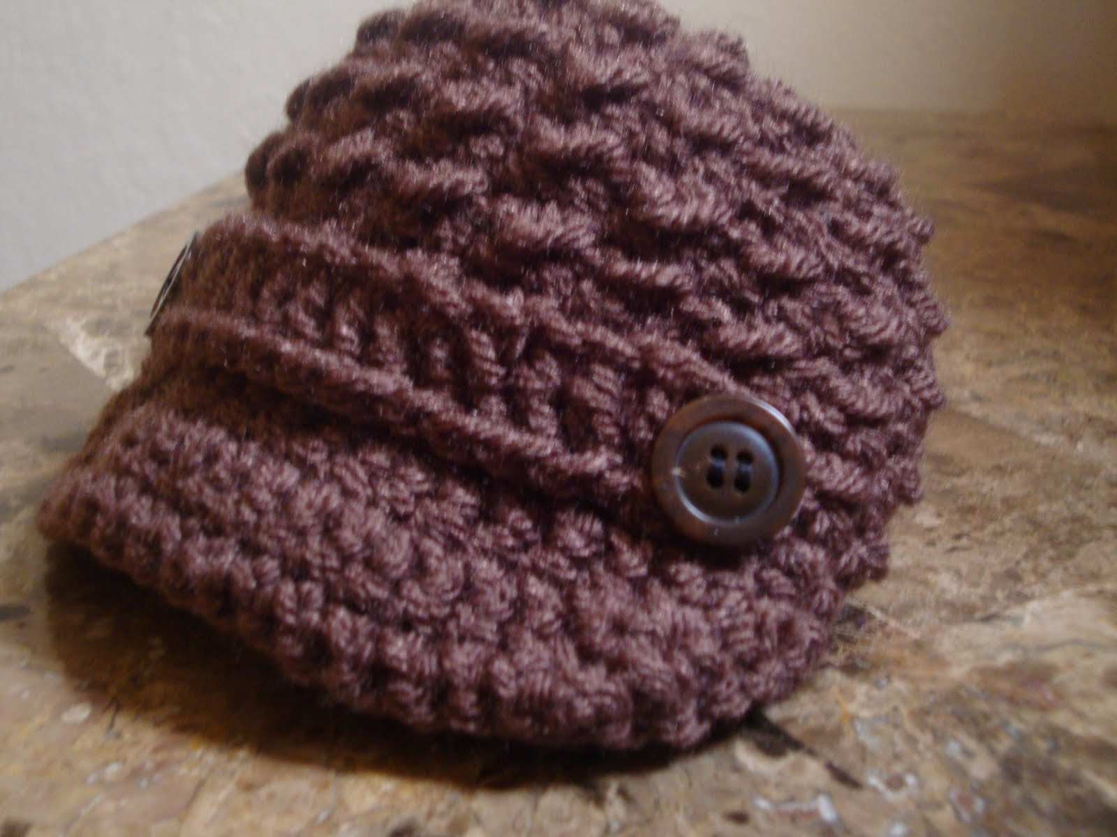 Free Crochet Pattern Newsboy Style Cap : FREE CROCHET PATTERN/NEWSBOY CAP - Crochet and Knitting ...