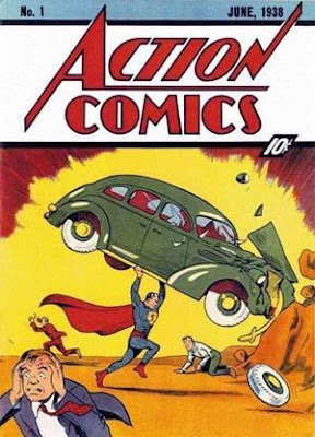Superman Action Comics 1 cover