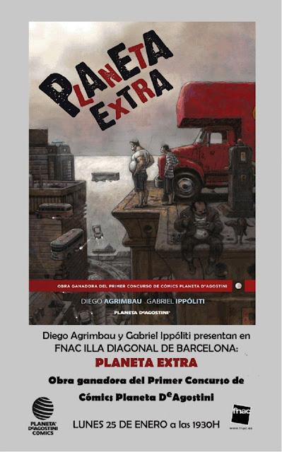 Presentación de Planeta Extra de Diego Agrimbau y Gabriel Ippóliti