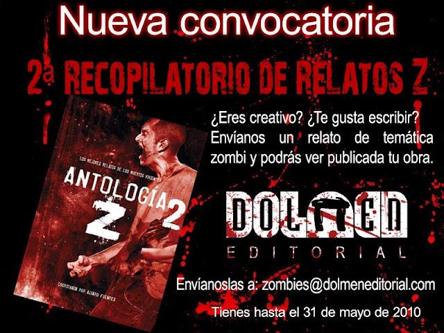 Concurso relatos zombi - Dolmen