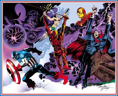 Gene Colan Iron Man Dracula Dr Strange Captain America Daredevil Namor