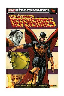 Los últimos Defensores, de Joe Casey, Keith Giffen y Jim Muniz