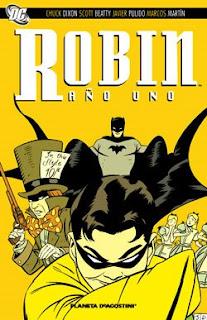 Robin Año Uno, de Javier Pulido