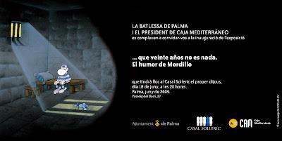 Mordillo en el Casal Solleric de Palma
