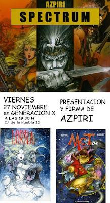 Presentación Spectrum de Azpiri