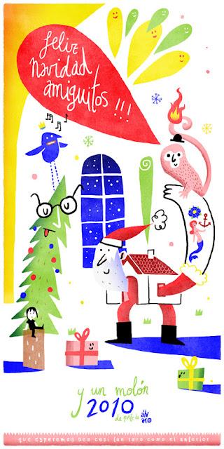 Felicitaciones de Navidad - Álvaro Ortiz