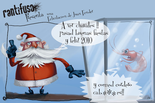 Felicitación de Navidad - Grupo Rantifuso - Juan Fender