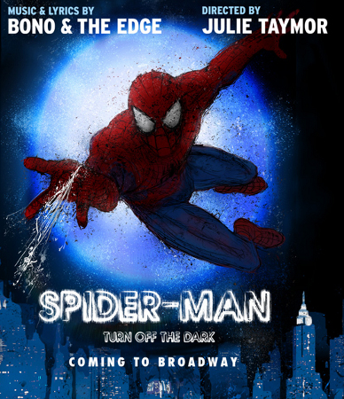 Spiderman musical - Turn off the Dark