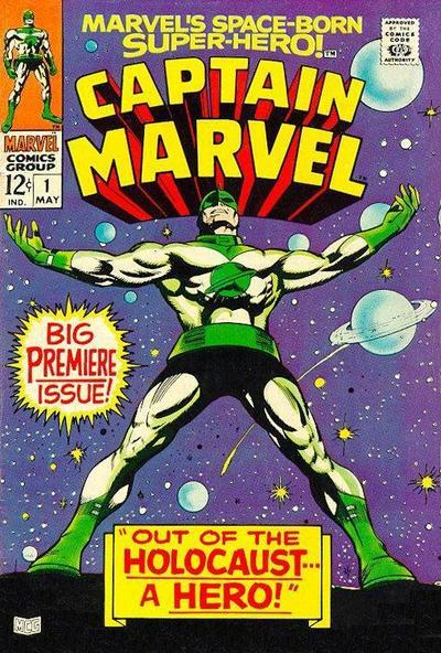 Captain Marvel vol. I 1 - Gene Colan