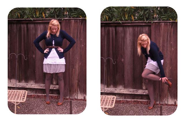 Velvet Sky Skirt