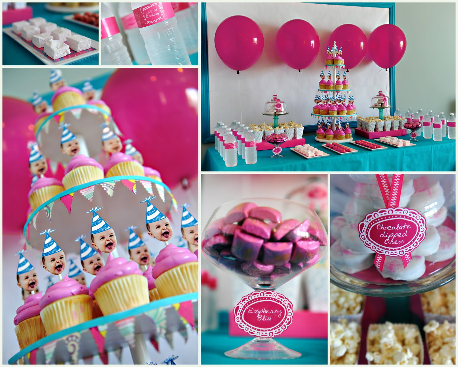 first year birthday party ideas for girls home design interior