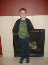 Nathan on his 1st day of  2nd grade