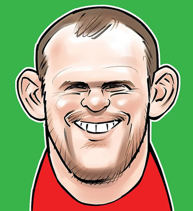 Wayne Rooney Caricature fail pictures hot pictures picture collections picture dumps