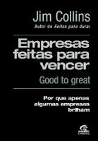livro Empresas Feitas para Vencer (Good to Great)
