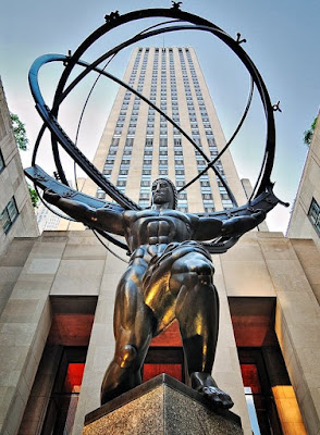 Estátua de Atlas - Rockefeller Center