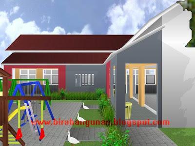 Desain Bangunan Gedung Taman Kanak-Kanak : PENATAAN RUANGAN KELAS DAN TEMPAT BERMAIN  SM - Biro ...