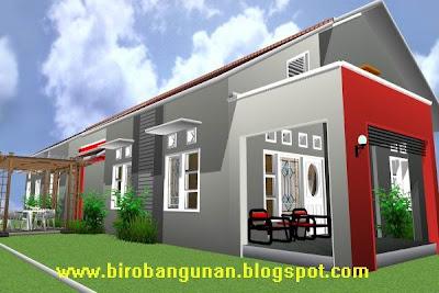 Bentuk Desain Rumah on Desain Rumah Bpk Giarto   Menyiasati Bentuk Bangunan Rumah Memanjang