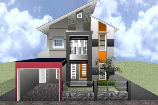Inilah inspirasi Desain Rumah 2 Lantai 2015 yg cantik