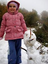 a minha PRINCESA na neve