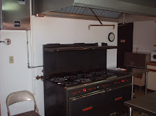 Kitchen Stove in Multipurpose Building