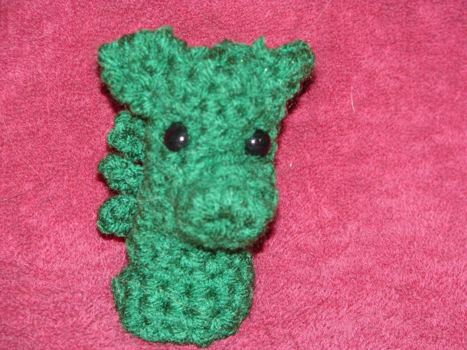 Chatty's Original Patterns: Finger Puppet