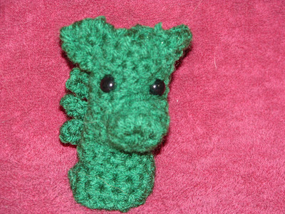 Knitted dragon hand puppet pattern? - Crafty Sewing Mamas