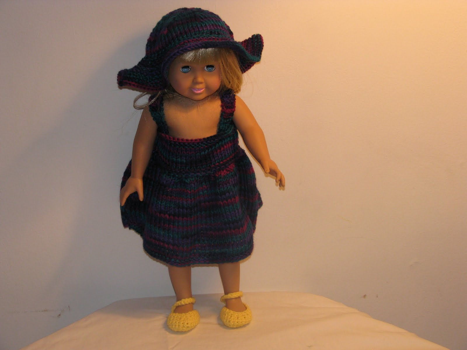 Free Knitting Patterns For 18 Inch Dolls images