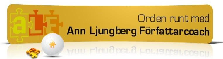 Orden runt med Ann Ljungberg Författarcoach
