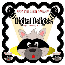 I'm a Spotlight Guest Designer for Digital Delights by Louby Lou