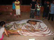 Clau y la obra de Raul Anguiano